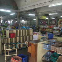 Inside of food and sundries shop