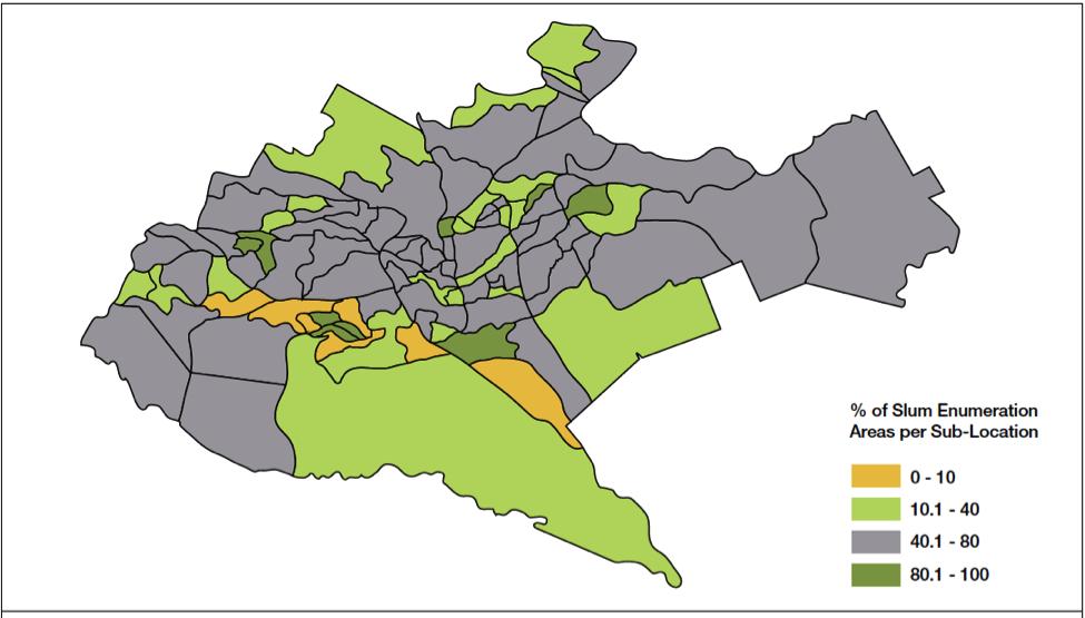 Nairobi Kenya Hungry Cities - nairobi map