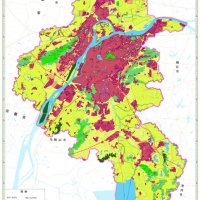 Land Use Map of Nanjing, China