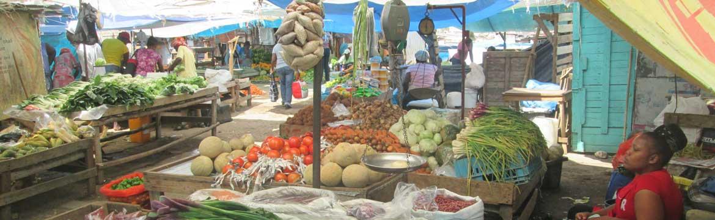 Kingston fruit market