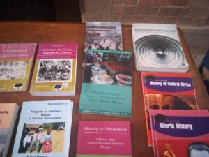 Book display Lovemore Zuze